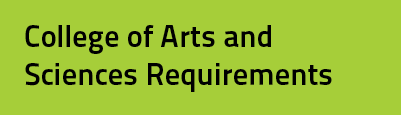 College of Arts and Sciences Requirements
